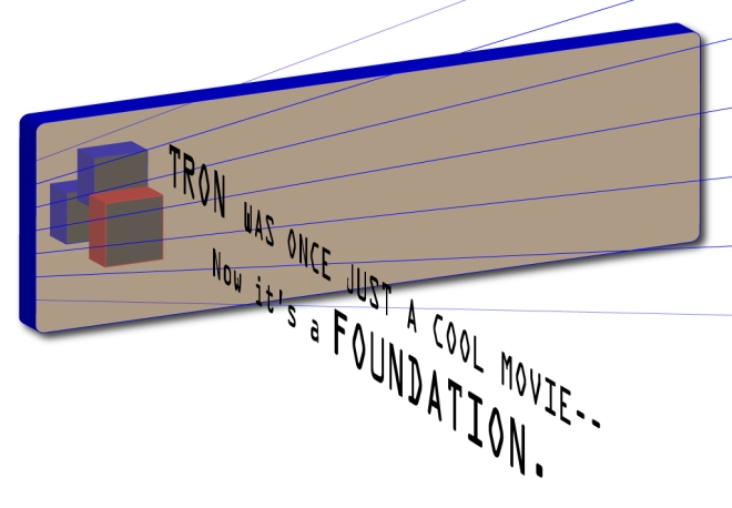 TRON_Movie_is_now_a_foundation